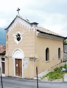 Luoghi di culto cappella di santo stefano protomartire - Zoccolo esterno facciata ...